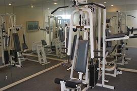 Malibu Fitness full Nautilus weight system