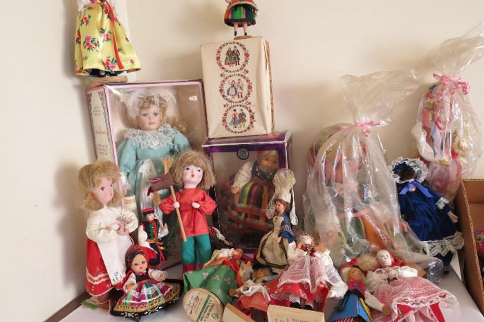 Polish Folk Art Dolls
