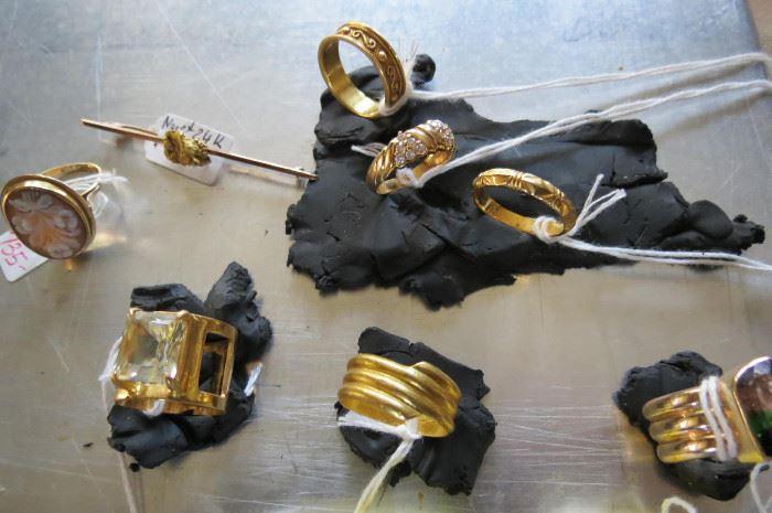 22 K gold Jewelry