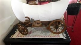 one of 2 wagons like this..  This one is 2 feet long..
