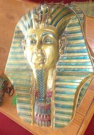 King Tut mold for making King Tut death mask