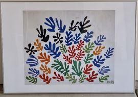 Vibrant Color Print - Matted & Framed