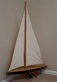 "Another Well Made Pond Yacht - 38"" Tall"