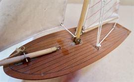 Great Detail & Workmanship - Pond Yacht