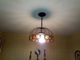 Mid modern hanging lamp