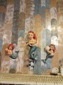 Lefton  mermaids
