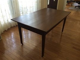 Antique Cypress Farm Table