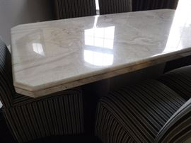 Solid Marble Dinner Table
