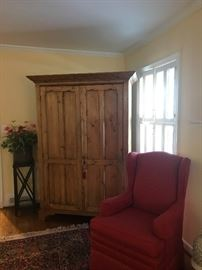 Fabulous armoire and chair