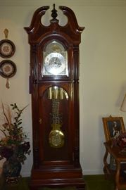 Gorgeous Howard Miller Presidential Collection Grandfather Clock - Beautiful in every way!