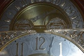 """Beautiful Howard Miller """"Presidential Collection"""" Grandfather Clock with Westminster Chimes"""