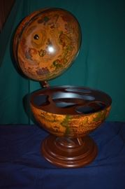 Awesome World Globe Liquer Cabinet made in Italy