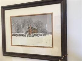 Bob Timberlake Winter Print