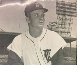 Our retired pro baseball player in early 1960s