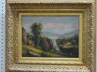 Oil on Canvas in Gilt Frame