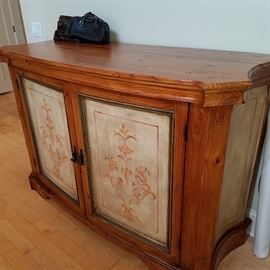 Arhaus cabinet