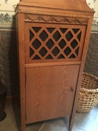 Antique Record Player - Cabinet Only