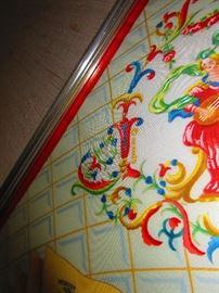 Detail of Hermes Scarf