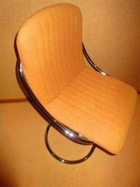 Mid-Century Chrome Chair