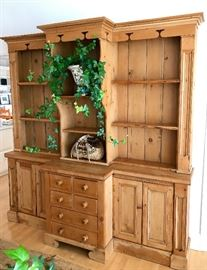 Pine Welsh Cupboard  C.1850