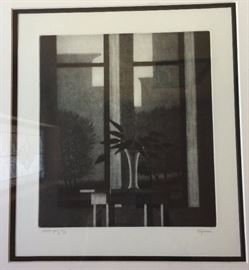 "Robert Kipness Artist's Proof ""Two Windows"""