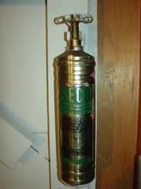 vintage fire extinguisher