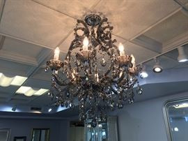 Crystal Chandelier (removal to be arranged)
