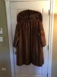 Vintage swing Mink coat