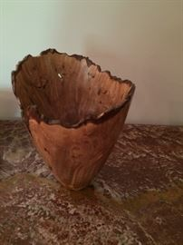 Hand-carved wooden piece of art!