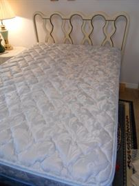 full mattress / Bassett headboard & footboard
