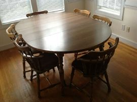 Table / 6 Chairs $ 280.00