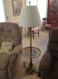 Floor Lamp / Table $ 50.00