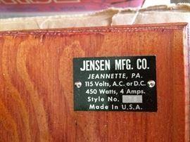 Jensen Steam engine