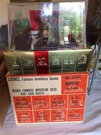 Lionel Famous Inventors Series Morse Telegraph