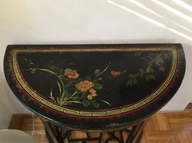 Beautiful asian style entry table.