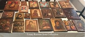 Greek Russian Icon Collection
