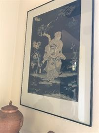another of the framed scrolls