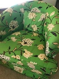 Beautiful floral arm chair