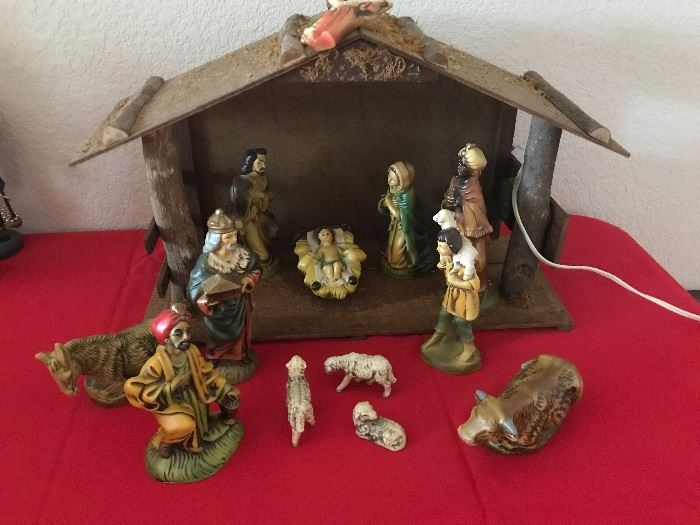 vintage Japanese  nativity