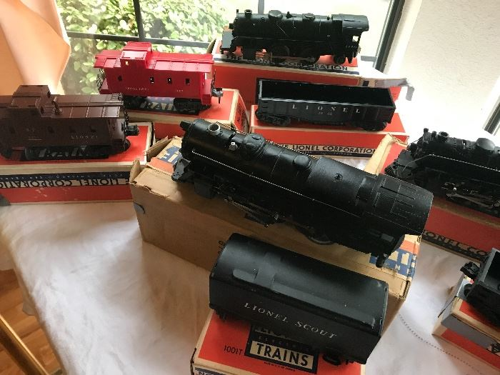 early Lionel trains, 1940-60's