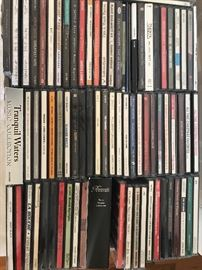 big CD collection