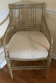 One of four matching Kittinger chairs