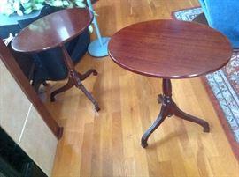 Tea Tables (2) $ 50.00 each