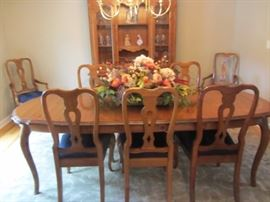 ETHAN ALLEN COUNTRY FRENCH DINING ROOM.   TRADITIONAL AND TIMELESS!