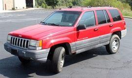 1996 Jeep Grand Cherokee Multipurpose Vehicle, 240,566 Miles, VIN # 1J4GZ58S7TC161949