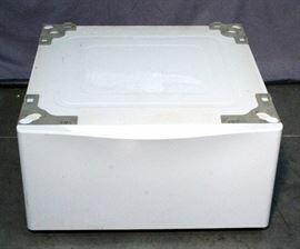 """LG 27"""" Laundry Pedestal with Storage Drawer Model WDP4W, 27"""" x 29.6"""" x 13.6"""""""