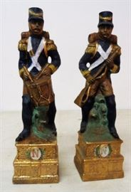 1970s Union Soldier Decanters