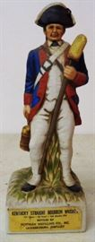 1970s Colonial Soldier Decanter