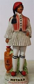1970s Spanish Soldier Decanter