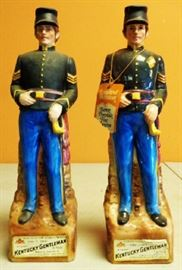 1970s Confederate Soldier Decanters